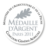 Mâcon-Montbellet, médaille d'Argent Paris 2011